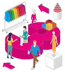 Deciding on a retail interior design