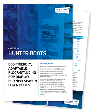 Hunter boots fanned-1